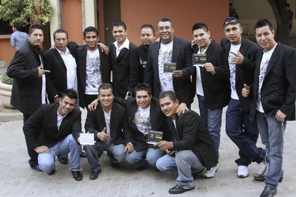 Członkowie zespołu Kombo Kolumbia