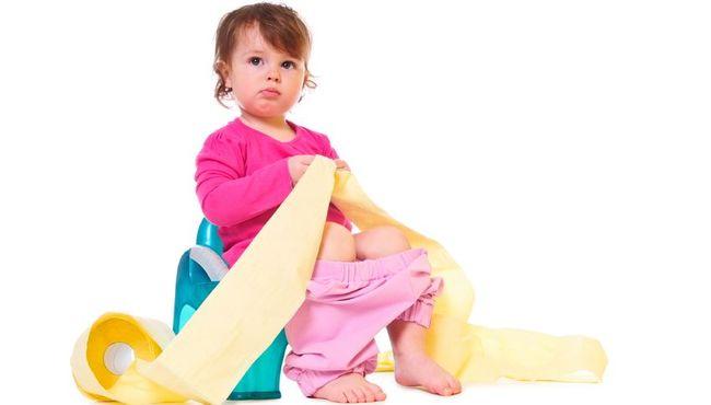 Jak leczy� zaparcia u dziecka?