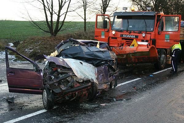 Wypadek w Koz�owie