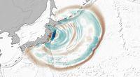 Ślady po tsunami znalezione na dnie oceanu