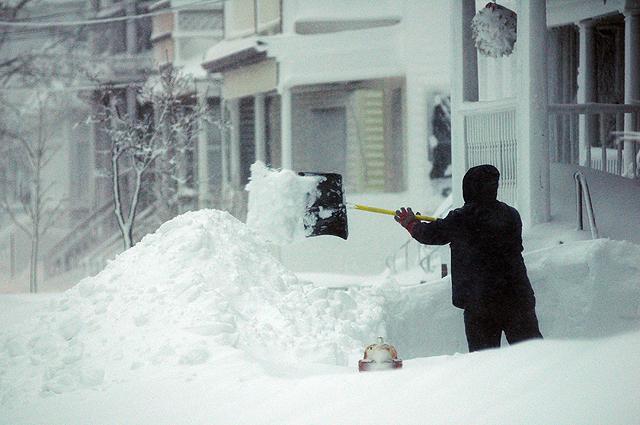 Ukraina walczy ze śnieżycami; fot. WP.PL