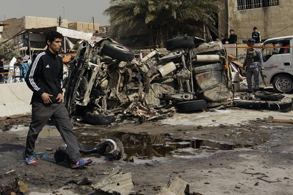 Znalezione obrazy dla zapytania irak po wojnie