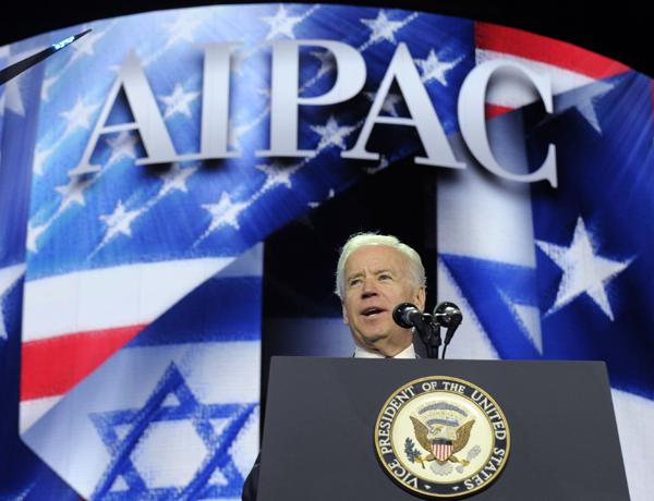 Joe Biden na konferencji AIPAC