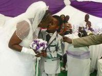 8-latek poślubił 61-letnią kobietę!