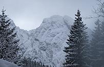 Wysoko w Tatrach spad� �nieg