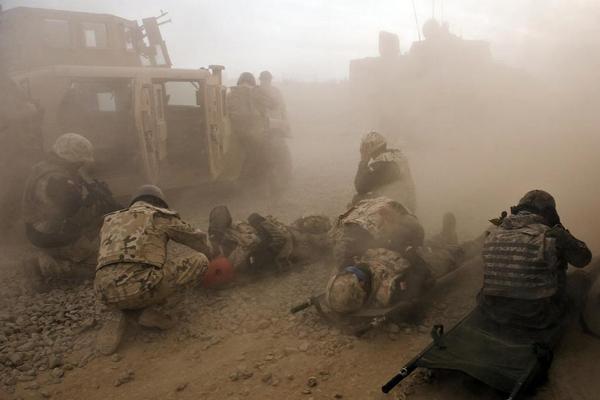 Ewakuacja medyczna w Afganistanie