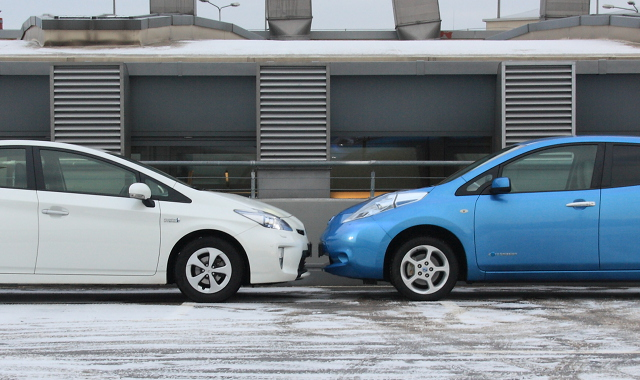 how to start a nissan leaf