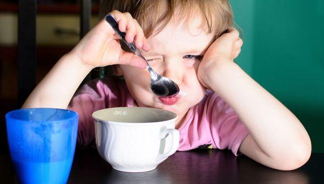 Gdy dziecko nie chce pi� mleka