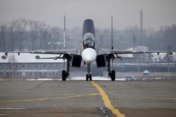 My�liwiec Su-30SM