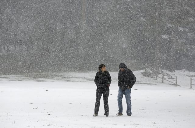 10 centymetrów śniegu