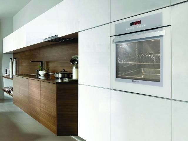 Mastercook MF 801 ATCB  biały piekarnik z książką kucharską  Sprzęt RTV i A   -> Kuchnie Gazowe Do Zabudowy Mastercook