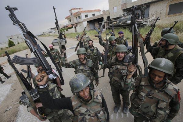 Znalezione obrazy dla zapytania wojsko usa w syrii - zdjęcia
