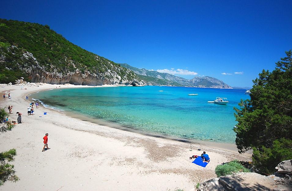Cala Luna, Włochy