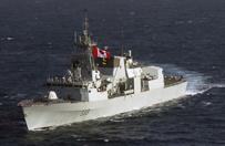 Kanadyjski okr�t wojenny przechwyci� na Morzu Arabskim transport 300 kg heroiny
