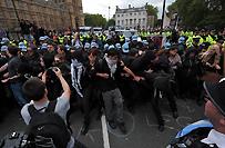 Starcia nacjonalist�w i antyfaszyst�w w Wielkiej Brytanii