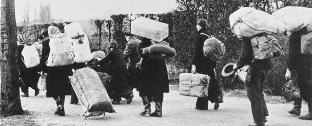 Jak Niemcy uciekali przed Armi� Czerwon�?