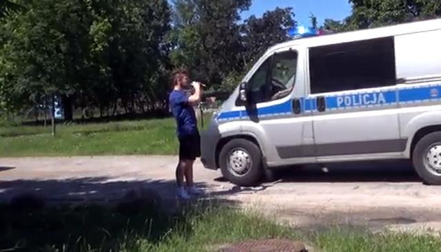 Co za wstyd! Polscy policjanci ośmieszeni