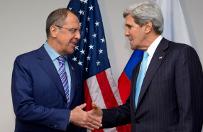 Kerry: USA i Rosja uzgodni�y wymian� informacji o sytuacji na granicy
