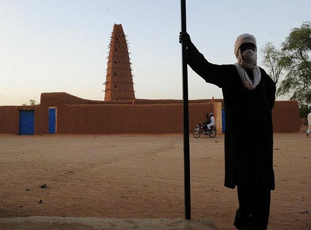 Zabytkowe centrum w Agadez, Niger