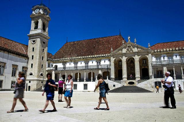 Uniwersytet w Coimbrze - Alta i Sofia, Portugalia