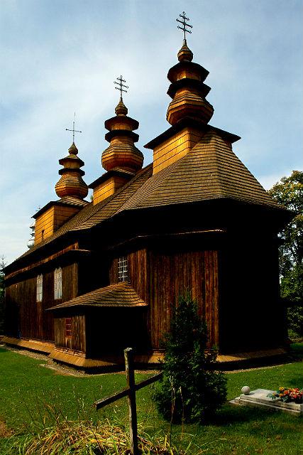 Drewniane cerkwie w polskim i ukraińskim regionie Karpat, Polska/Ukraina