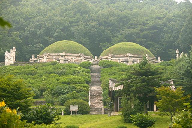 Zabytki i miejsca historyczne w Kaesong, Korea Pn.