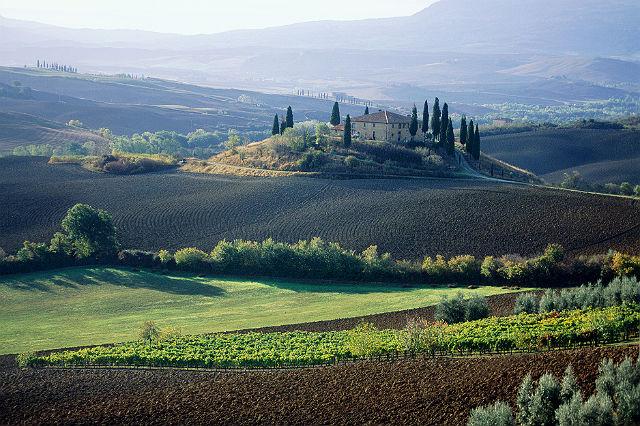 Medycejskie wille i ogrody w Toskanii, Włochy