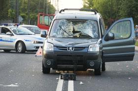 Tragedia na drodze: rowerzystka nie mia�a szans