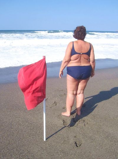 Kobieta w bikini - co nie podoba si� m�czyznom?