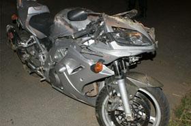Okropny wypadek m�odego motocyklisty. Nie mia� szans