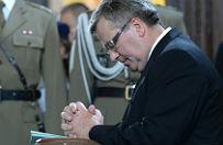 Prezydent Bronis�aw Komorowski odda� ho�d Polakom pomordowanym w Kisielinie