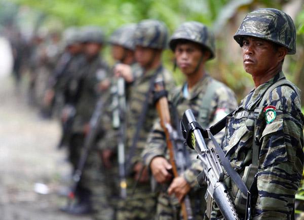Filipińscy rebelianci z Islamskiego Ruchu Wyzwolenia Moro