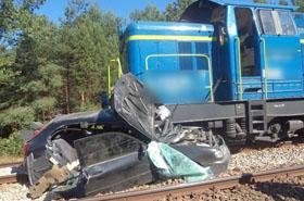 Tragedia na przeje�dzie kolejowym