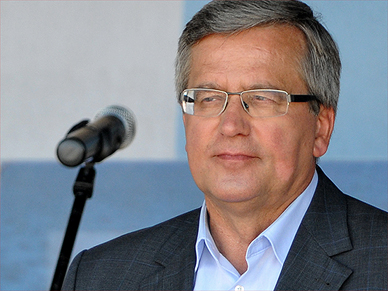Prezydent Bronis�aw Komorowski: to rz�d, kt�ry ma skupia�, nie dzieli�