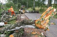 Po nawa�nicach na Polsk� ok. 150 uszkodzonych lub zerwanych dach�w