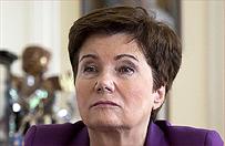 Hanna Gronkiewicz-Waltz: premier nie jest zadowolona ze wszystkich ministrów