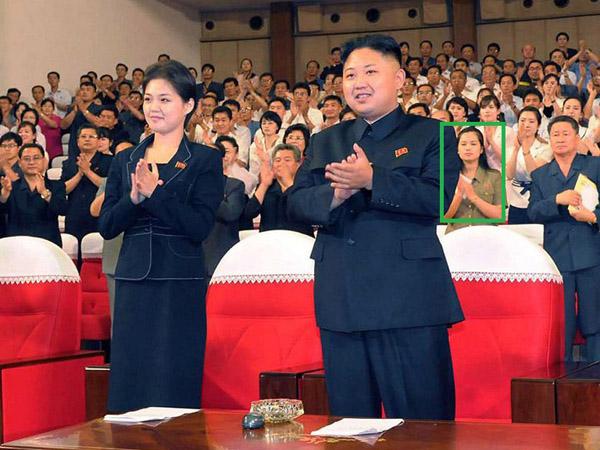 Ri Sol D�u i Kim Dzong Un (w ramce kochanka dyktatora)