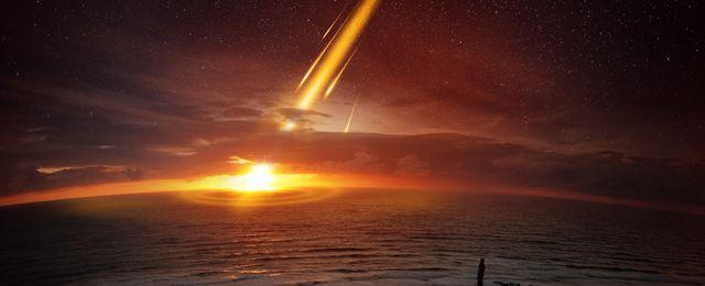 Mała planetoida zauważona w ostatniej chwili