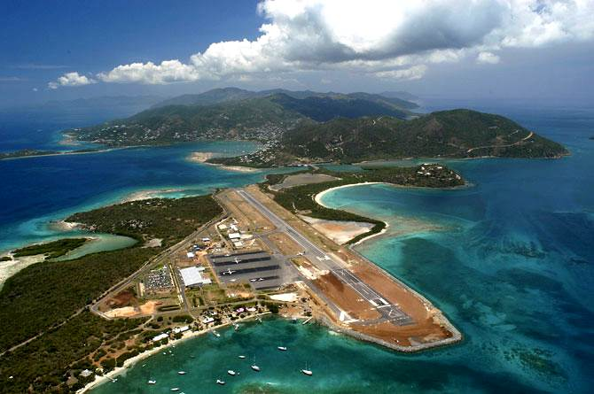 Where To Fly British Virgin Islands