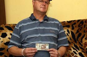 Zapłacił spranym banknotem - zgarnęła go policja!