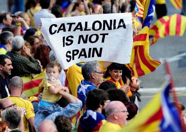 Znalezione obrazy dla zapytania niepodległość katalonii