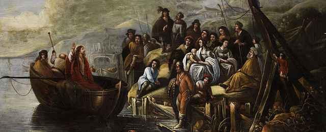 Jezus nad jeziorem Genezaret