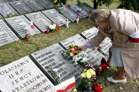 Uczcili pamięć zamordowanych policjantów
