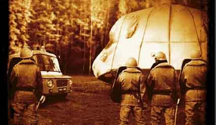 Czy za słynnym przypadkiem kontaktu z UFO w Polsce stały służby specjalne?