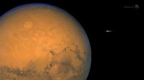 Kometa C/2012 S1 (ISON) blisko Marsa
