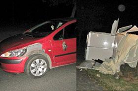 Kierowcy przera�eni: w nocy na jezdni� wtargn��...