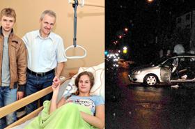 Brawo! 15-latek uratowa� trzy osoby z wypadku