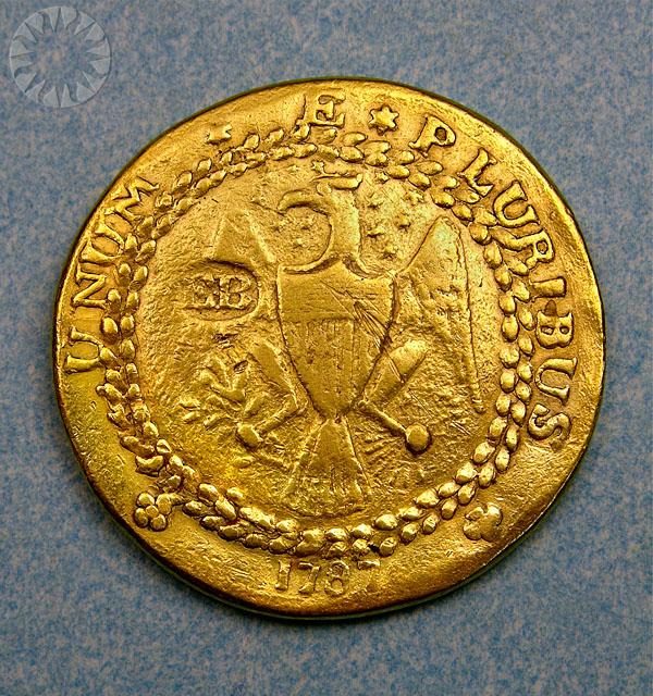4. złoty dublon Brashera z 1787 roku (7,4 miliona dolarów)