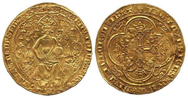 5. floren Edwarda III z 1343 roku (6,8 miliona dolarów)