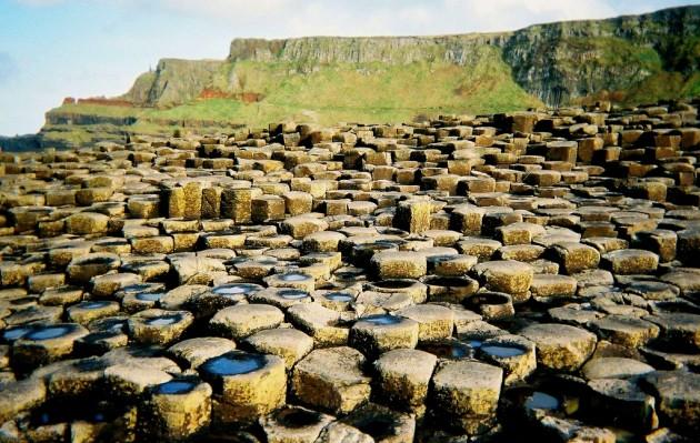 Grobla Olbrzyma, Irlandia